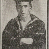 Power, Joyce, Stoker, RN HMS Hawke, Raceview Ballymena Down, Died, Oct 1914, snipped