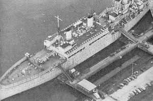 HMS Maidstone in Belfast