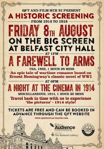 A Night at the Cinema in 1914, History Hub Ulster