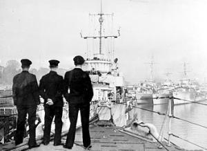 Royal Navy in NI, HMS Ferret Lisahally