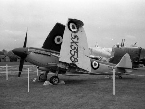 Seafire at Sydenham 1950