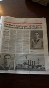 Ulster Star Livebait Squadron 20 September 2014