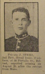 Private John McKean Simms