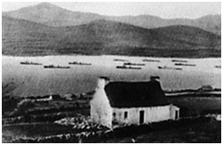 Warships at Berehaven