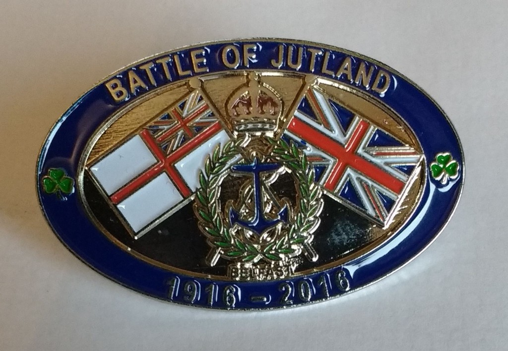 Jutland centenary badge
