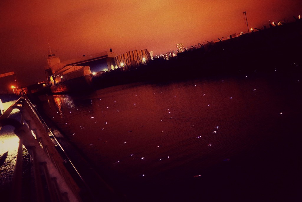 Sea of Lights in front of HMS Caroline Edited