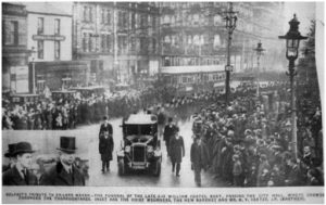 William Frederick Coates Funeral Belfast
