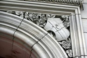 Swanston House - Sculptural Detail