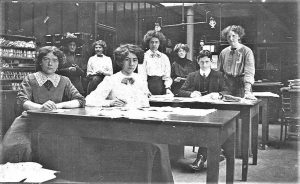 Swanston House - The Office Staff of the Singer Sewing Machine Co