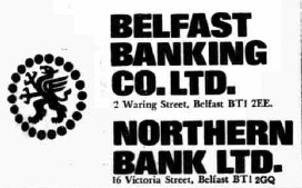 Belfast Bank, Advertisement
