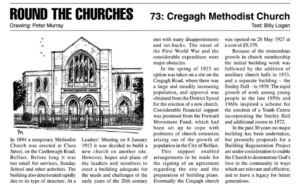 Castlereagh Road Methodist Church becomes Cregagh Methodist Church