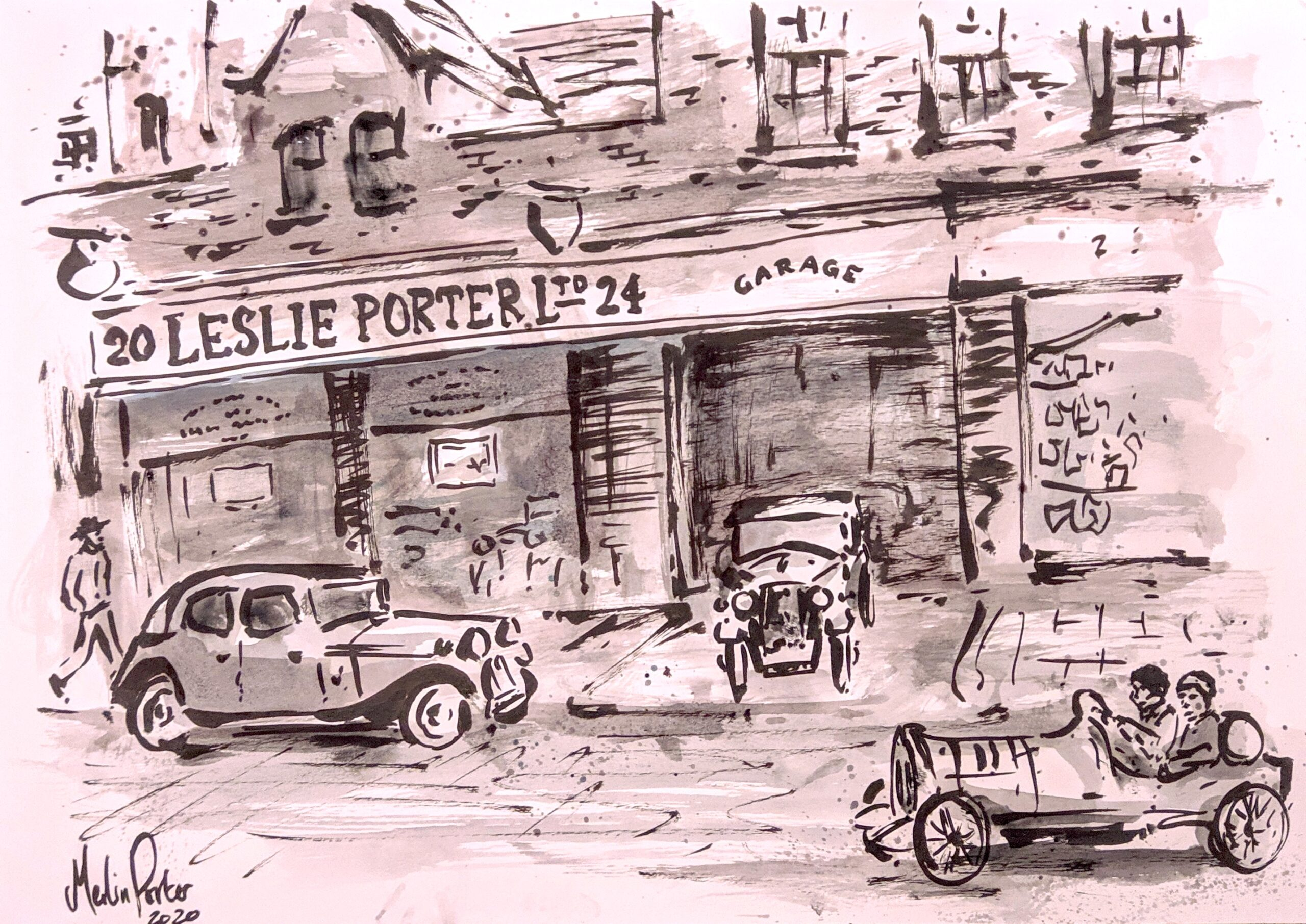 Leslie Porter Garage By Merlin Porter Arts