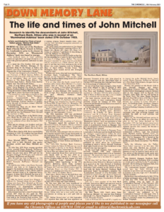 The Life and times of John Mitchell